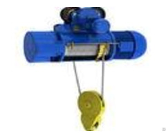 Single Rail Crab Electric Wire Rope Hoist 220v 440v For Mining Industry
