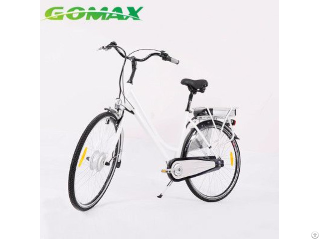 250w 36v 700c 6061 Aluminum Alloy Portable City Electric Bike Bicycle With  Hidden Battery