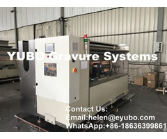Galvanic Tank Good Conductivity Gravure Cylinder Copper Plating Machine