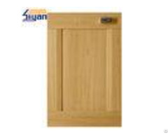 Light Wood Texture Shaker Kitchen Cabinet Doors For Interior Cabinets 15mm Thickness