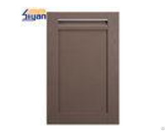 Scratch Resistant Shaker Kitchen Cabinet Doors 380 560mm With Grey Color