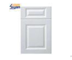 Elegant White Mdf Kitchen Cabinet Doors Replacement With Matte Surface
