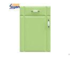 High End Mdf Replacing Kitchen Cabinet Doors And Drawer Fronts Green Color