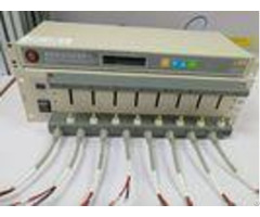 Modular Design Lithium Battery Capacity Tester 8 Channels Efficient Heat Dissipation System