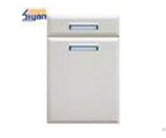 Refacing White Modern Kitchen Cabinet Doors And Drawer Fronts 0 35mm Thickness