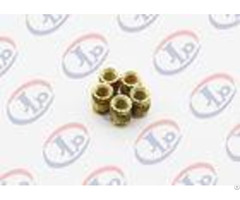 High Precision Lathe Machining Parts Small Brass Knurling Inserts
