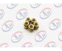 High Precision Lathe Machining Parts Small Brass Knurling Inserts