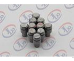 Iso9001 Lathe Machining Small Metal Parts 10mm 25mm Unthreaded Iron Bolts