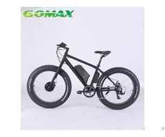 Fat Tyre Titanium Full Suspension Carbon Mountain Lithium Battery Mid Drive Electric Bike