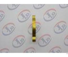 Irregular Size High Precision Machining Parts Gold Aluminum Fixed Washer