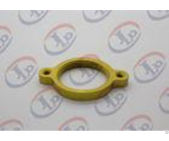 Small Golden Custom Cnc Aluminum Partsaluminum Washers0 1 Mm Tolerance