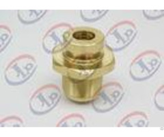 Cnc Precision Components With Internal External Thread Brass Fastenersfor Air Pump