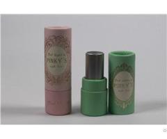 Custom Recycled Printed Cardboard Paper Lipstick Tube Wholesale