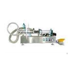 Liquid Metering Jam Filling Machine Semi Automatic Type With Automated Packaging