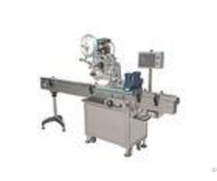 Plane Flat Surface Automatic Labeling Machine High Speed Stainless Frame