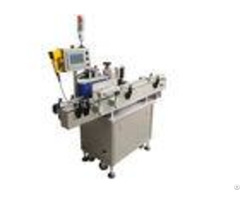 Glass Plastic Bottle Automatic Labeling Machine Open Frame Design