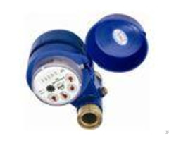 Residential Class B Multi Jet Water Meter Iso 4064 Grey Iron Housing For Smaller Port