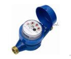 Class B Cold Hot Multi Jet Water Meter R Value 160 Iso 4064 Super Dry With Coupler