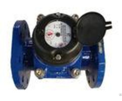 Flange Port Industrial Water Meter Positive Displacement Dn50 Dry Dial