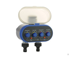 Dual Outlet Electronic Water Timer