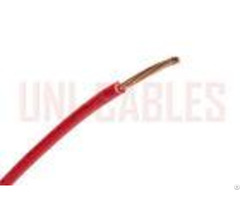 Polyvinyl Chloride Red Black Pvc Electrical Cable 2491x For Grounding And Control