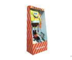 Pos Corrugated Cardboard Display For Doll Racks Entd036 With Ink Water Printing