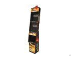 Corrugated Cardboard Display Shelves Entd010 With Excellent Smoothness And Stiffness