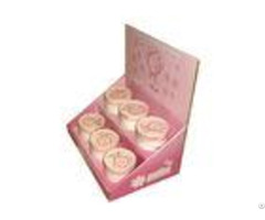 Cardboard Counter Displays Encd032 With Island Units For Ladies Cosmetic