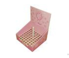 Strong Structure Cardboard Counter Displays Encd033 For Cosmetic Organizer As Mascara