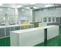 Laboratory Epoxy Resin Countertops 1 5 Meters Work Bench With Monolithic