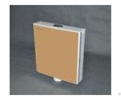 Plastic Pp Exposed Dual Flush Push Button Toilet Cistern 3l 6l 8l Volume