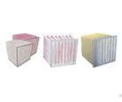 Bag Designed Air Conditioner Filters Aluminum Frame Improved Energy Efficiency