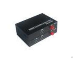 Cat 5 6 Receiver Fiber Optic Extender Ir Control Resolution 1080p Good Stability