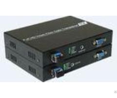 Hdcp 1 2 Standard Vga Extender Fiber Optical Transmitter And Receiver 60hz