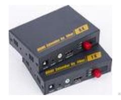 Simple Install Hdmi Optical Fiber Extender With Resolution 1080p Ir Control Anti Lightning