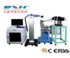 20w Fiber Laser Marking Machine For Ceramics Pe Abs Material Custom Design