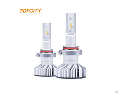 New Model 6000lm 80w High Power 9005 9006 H10 Led Light Bulb