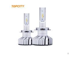 Guangzhou Auto Parts Head Lamp 12v 24v 80w Super Bright G11 Led Headlight H7