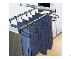 Adjustable Pull Out Trousers Rack