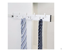 Wardrobe Side Mount Pull Out Tie And Belt Rack