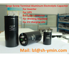 Ups Large Screw Terminal Aluminum Electrolytic Capacitor Bolt Type