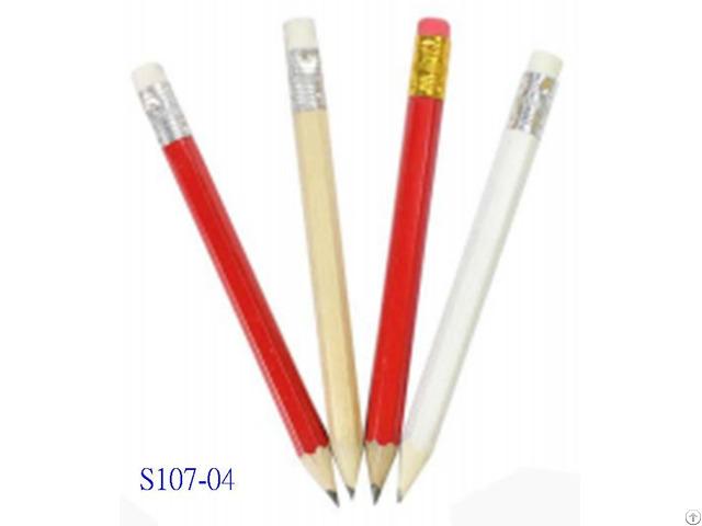 Hex Golf Pencil W Eraser