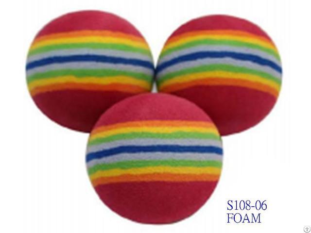 Multi Color Foam Ball