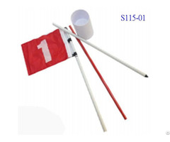 Flag Stick And Cup