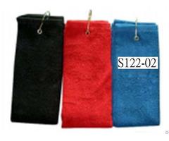 Tri Folded Golf Towel