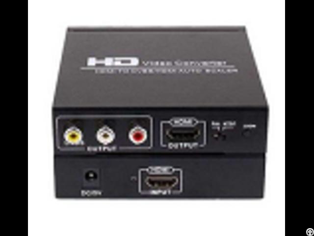 Sn001exv Hdmi Rca Cvbs L R Audio Extractor Auto Scaler