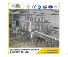 Double Head Beer Bucket Filling Machine