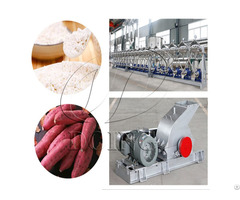 Sweet Potato Manufacturing Plant For Making Starch