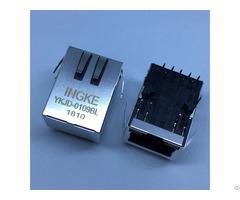 Ingke Ykjd 0109bl 100% Cross 7499211122a Through Hole Rj45 Jacks With Magnetics