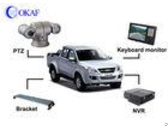 20x Vehicle Pan Tilt Zoom Camera Auto Tracking 1080p 2mp Hd Ip Sdi Ahd Analog For Police